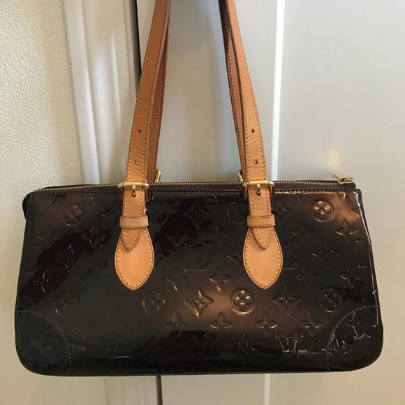 5e625d928fe8 Louis Vuitton Handbags - Authentic Louis Vuitton Vernis Rosewood Ave Bag